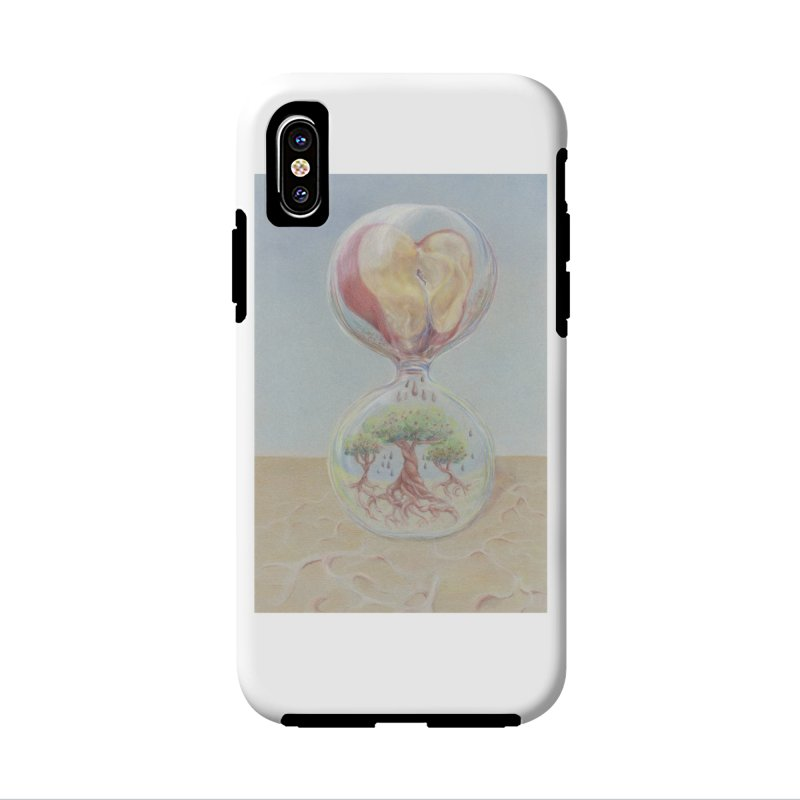 Apples Through Time in iPhone X / XS Phone Case Tough by Elevated Space