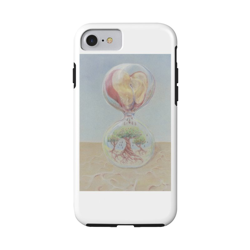 Apples Through Time in iPhone 8 Phone Case Tough by Elevated Space