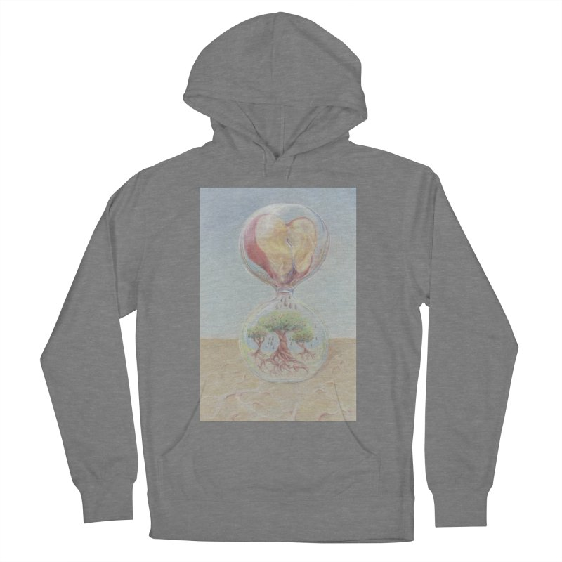 Apples Through Time Men's French Terry Pullover Hoody by Elevated Space