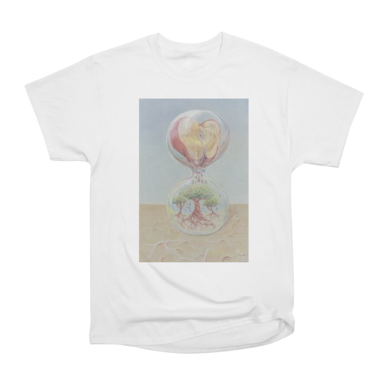 Apples Through Time Men's Heavyweight T-Shirt by Elevated Space