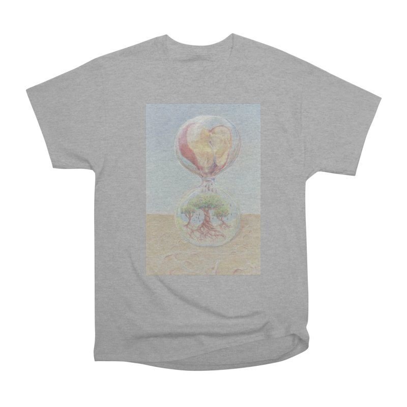 Apples Through Time Women's Heavyweight Unisex T-Shirt by Elevated Space