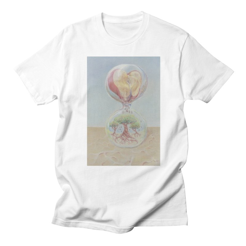 Apples Through Time Men's Regular T-Shirt by Elevated Space