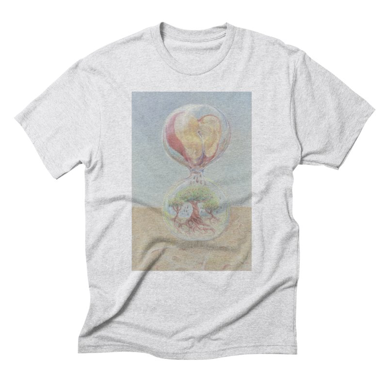 Apples Through Time Men's Triblend T-Shirt by Elevated Space