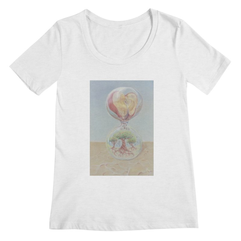 Apples Through Time Women's Regular Scoop Neck by Elevated Space