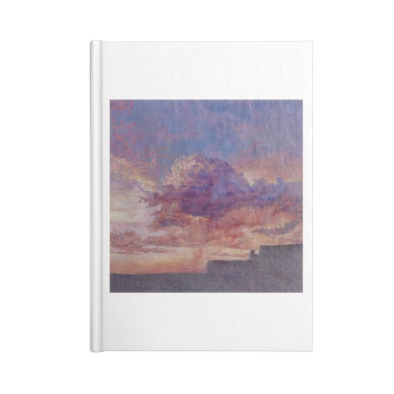 Clouds in Blank Journal Notebook by Elevated Space