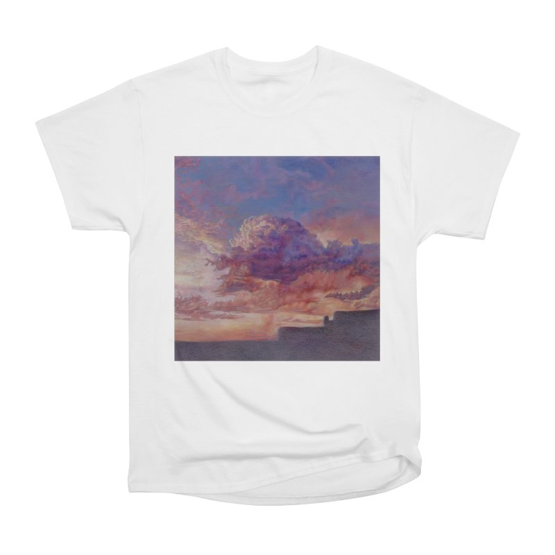 Clouds Men's Heavyweight T-Shirt by Elevated Space