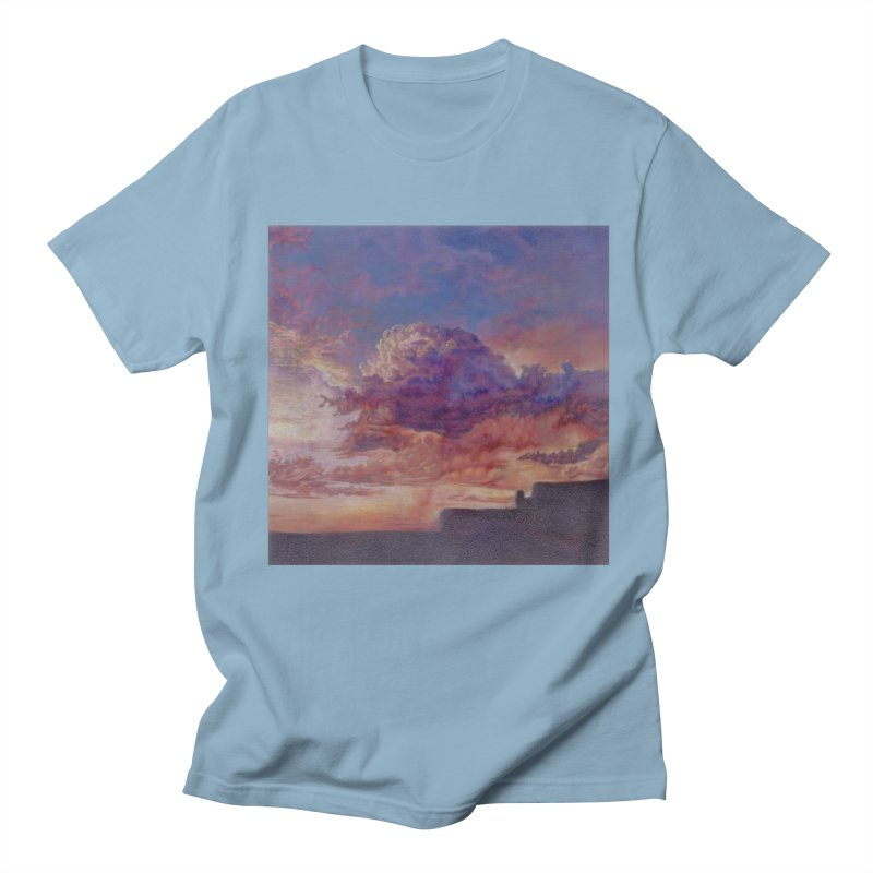 Clouds Women's Regular Unisex T-Shirt by Elevated Space