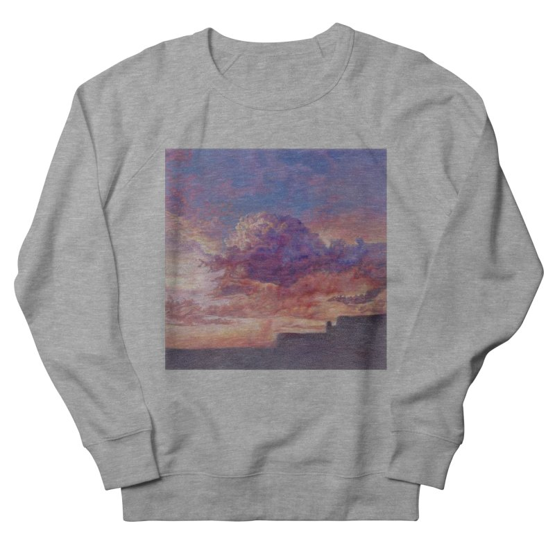Clouds Women's French Terry Sweatshirt by Elevated Space