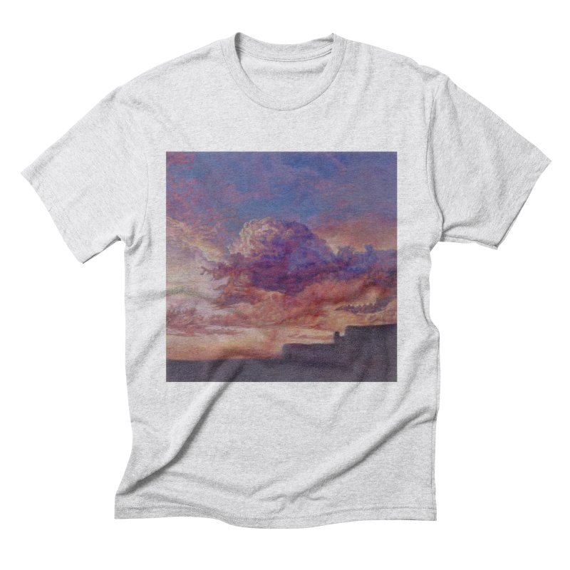 Clouds Men's Triblend T-Shirt by Elevated Space