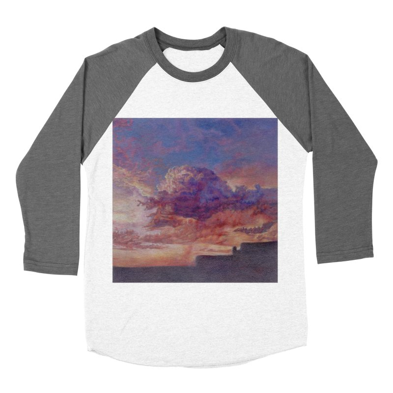 Clouds Women's Baseball Triblend Longsleeve T-Shirt by Elevated Space