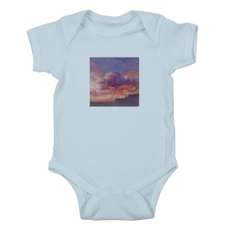 Clouds Kids Baby Bodysuit by Elevated Space