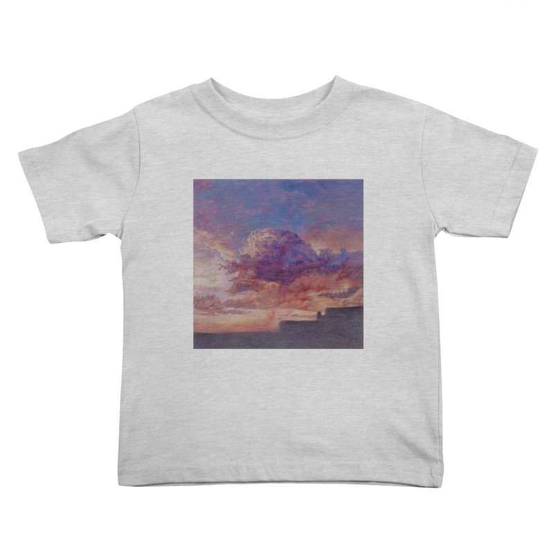 Clouds Kids Toddler T-Shirt by Elevated Space