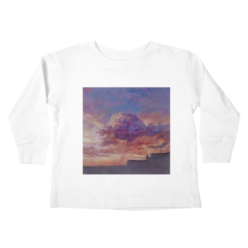 Clouds Kids Toddler Longsleeve T-Shirt by Elevated Space