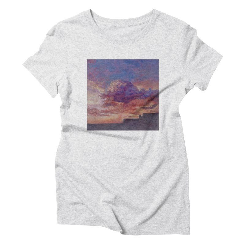 Clouds Women's Triblend T-Shirt by Elevated Space