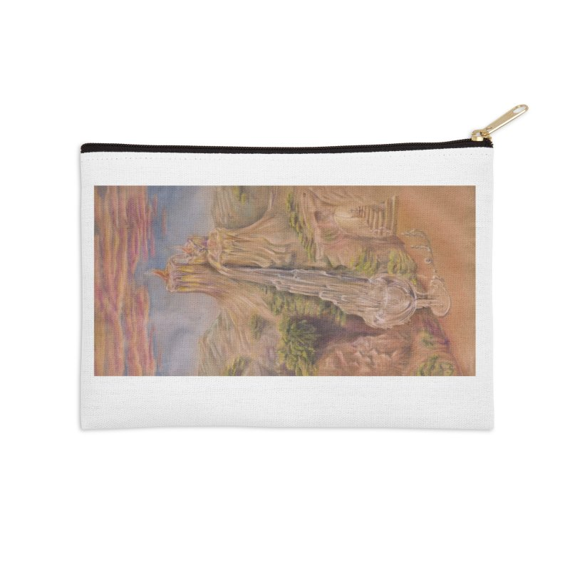 Souls All Mighty Accessories Zip Pouch by Elevated Space