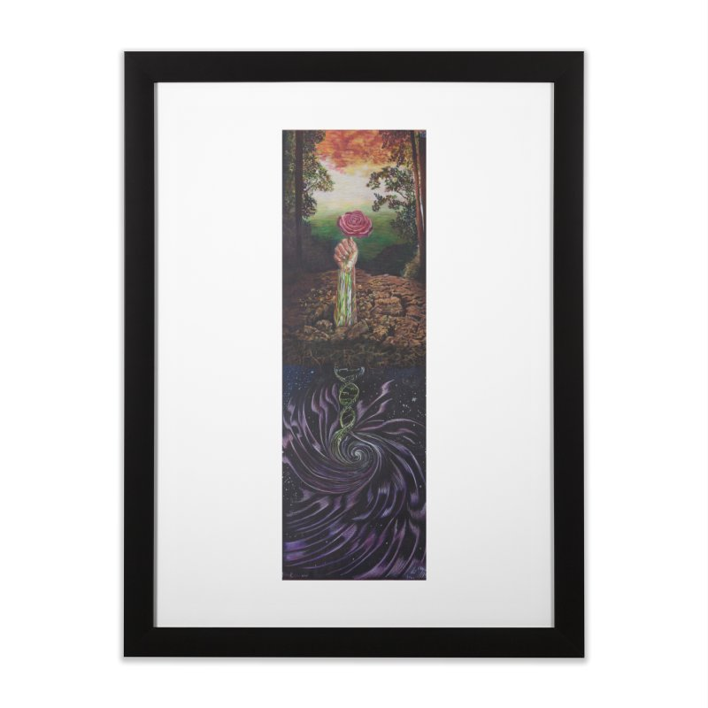 Alive Again Home Framed Fine Art Print by Elevated Space