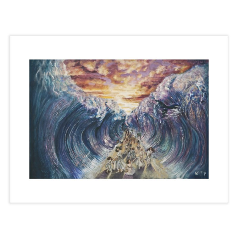Miriam's Song Home Fine Art Print by Elevated Space