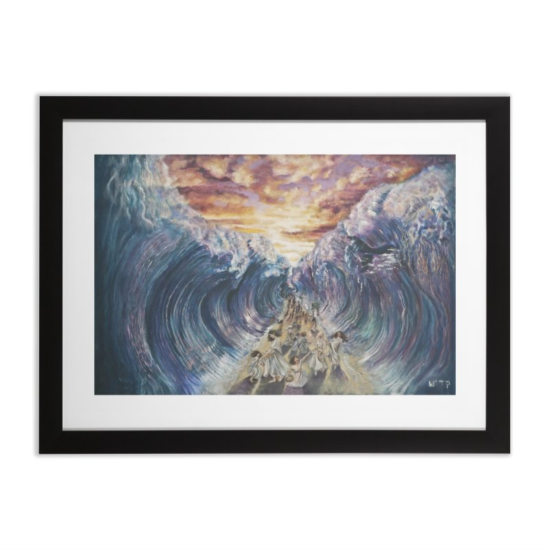 Miriam's Song Home Framed Fine Art Print by Elevated Space