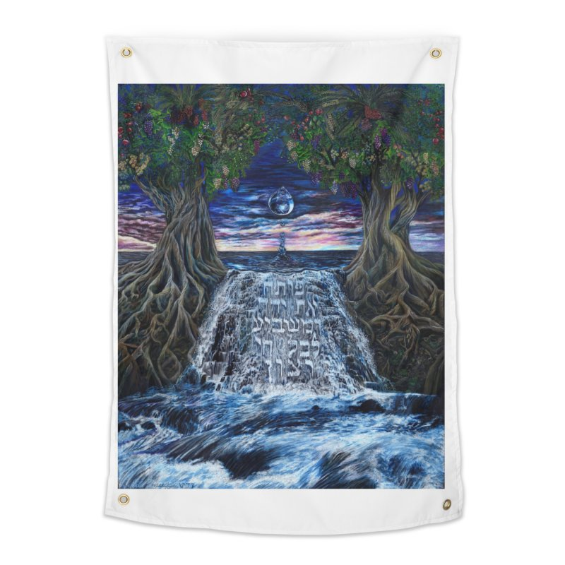 God Satisfies the Desire of Every Living Thing Home Tapestry by Elevated Space
