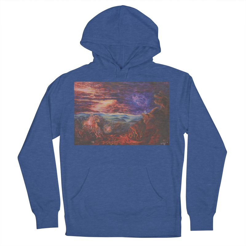 Elijah the Prophet Women's French Terry Pullover Hoody by Elevated Space
