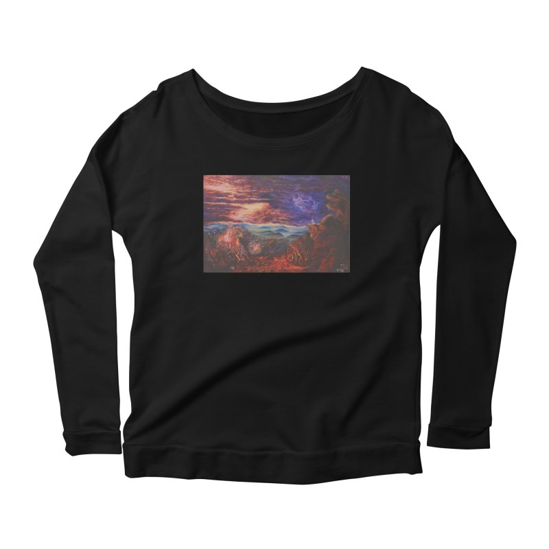 Elijah the Prophet Women's Scoop Neck Longsleeve T-Shirt by Elevated Space