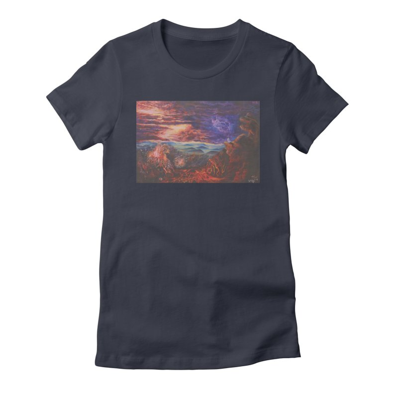 Elijah the Prophet Women's Fitted T-Shirt by Elevated Space