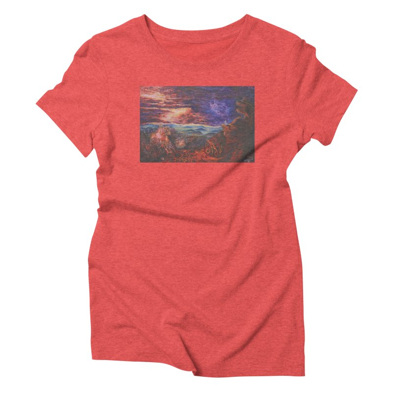 Elijah the Prophet Women's Triblend T-Shirt by Elevated Space