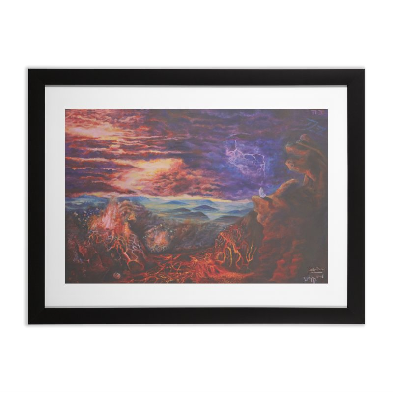 Elijah the Prophet Home Framed Fine Art Print by Elevated Space