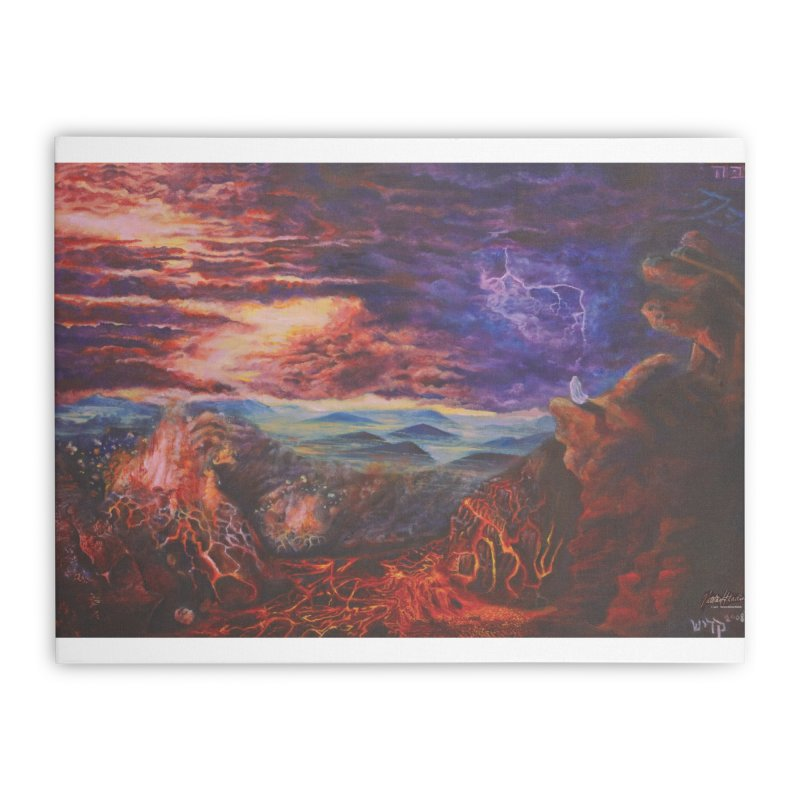 Elijah the Prophet Home Stretched Canvas by Elevated Space