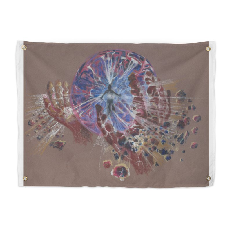 Mind over Matter Home Tapestry by Elevated Space