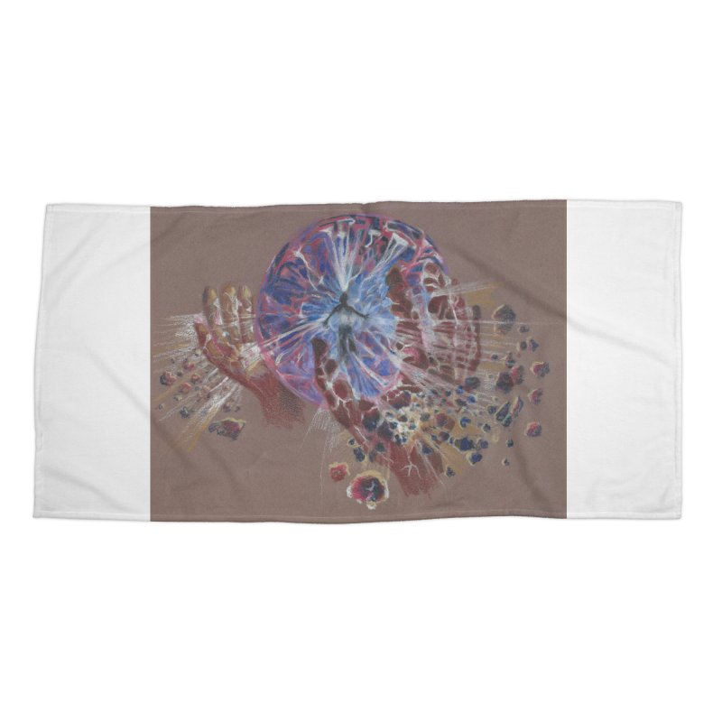 Mind over Matter Accessories Beach Towel by Elevated Space