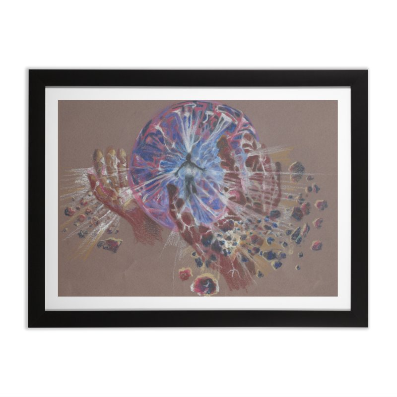 Mind over Matter Home Framed Fine Art Print by Elevated Space