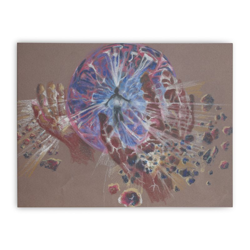 Mind over Matter Home Stretched Canvas by Elevated Space