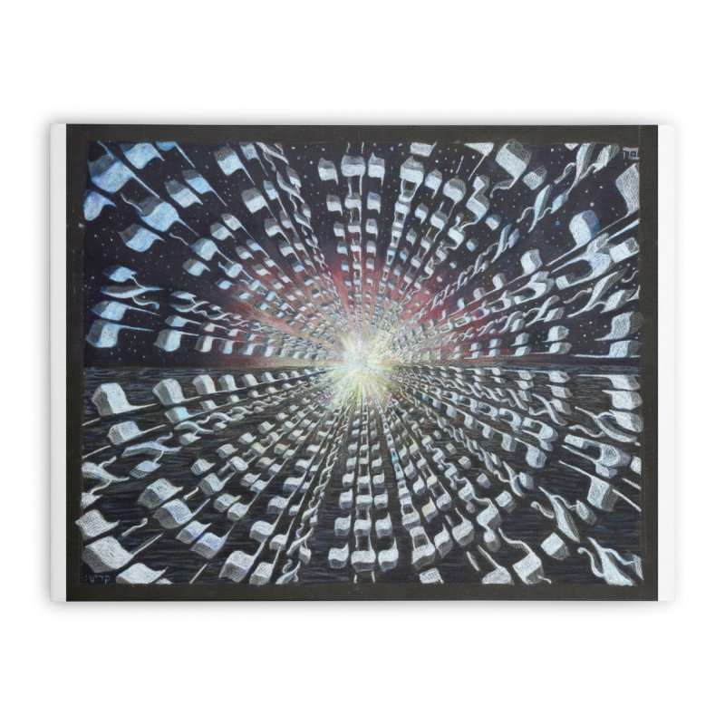 Creation Home Stretched Canvas by Elevated Space