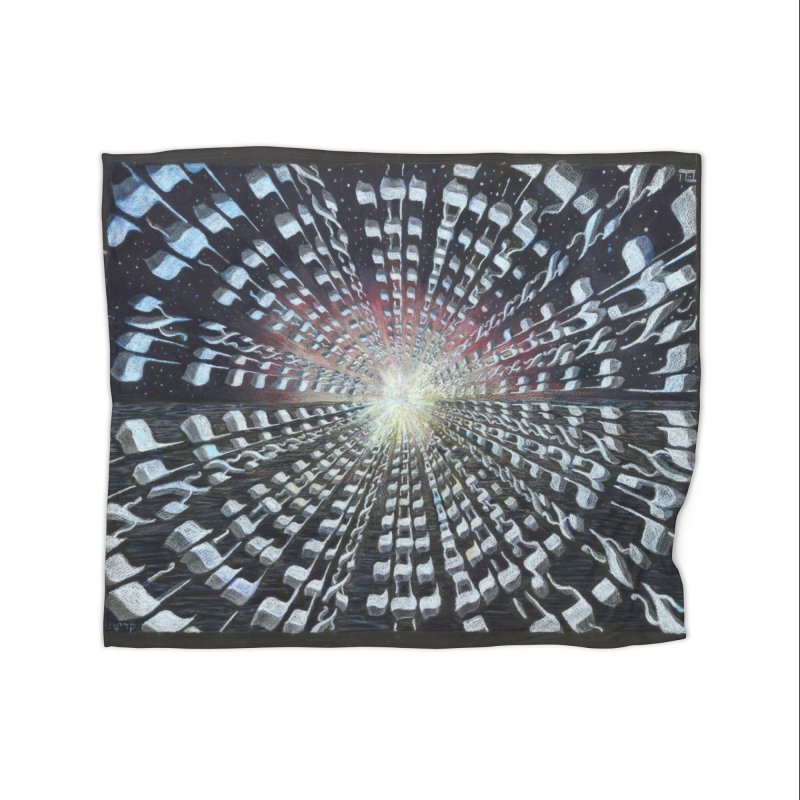 Creation Home Blanket by Elevated Space