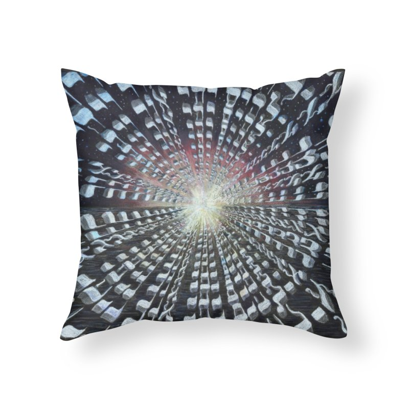 Creation Home Throw Pillow by Elevated Space