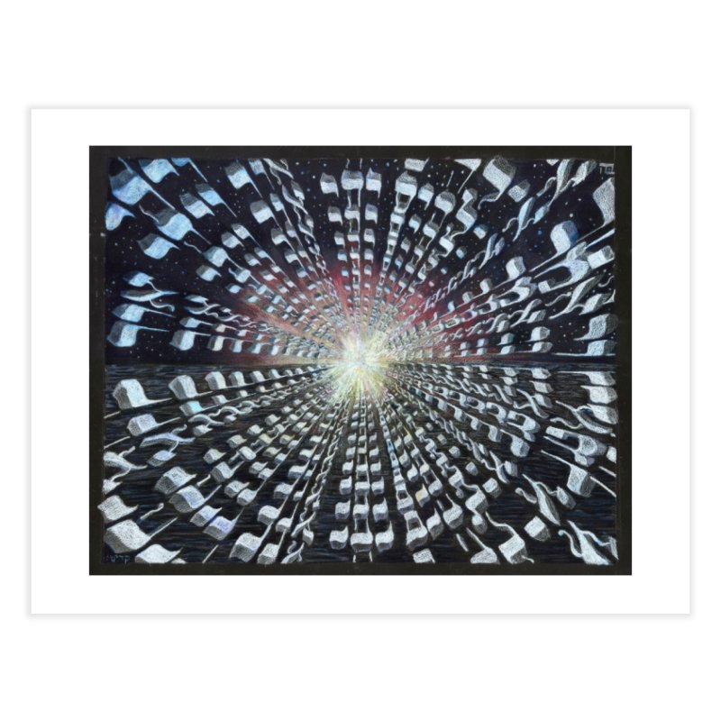 Creation Home Fine Art Print by Elevated Space