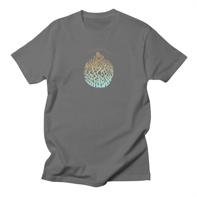 Fire to Water Men's T-Shirt by Elevated Space