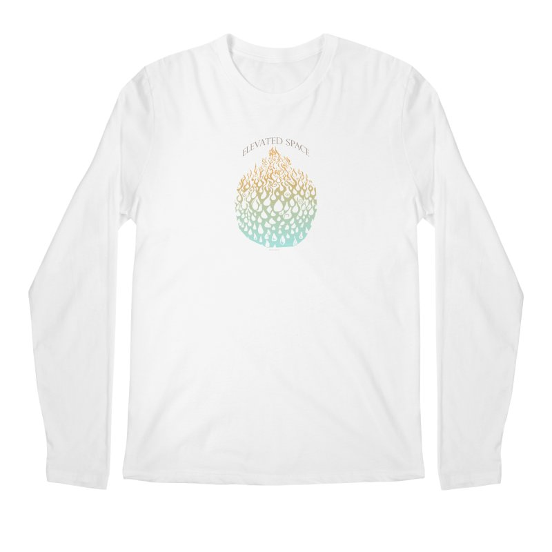 Fire to Water Men's Regular Longsleeve T-Shirt by Elevated Space