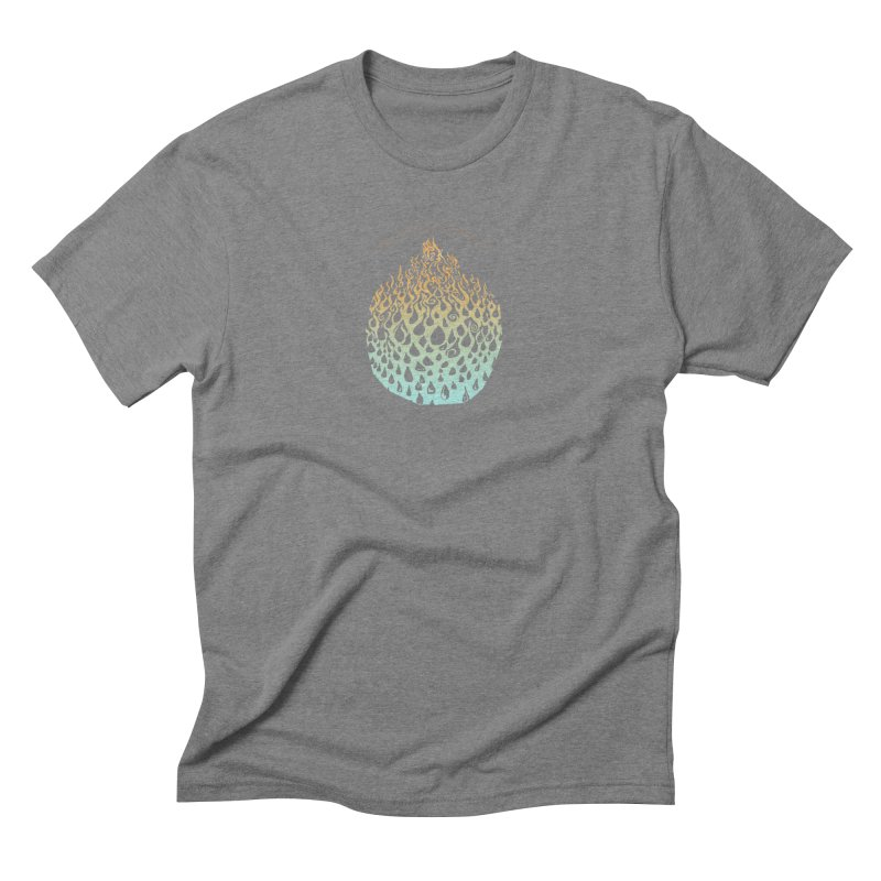 Fire to Water Men's Triblend T-Shirt by Elevated Space