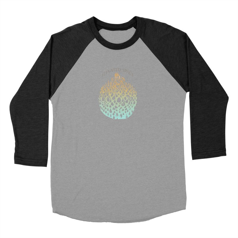 Fire to Water Men's Baseball Triblend Longsleeve T-Shirt by Elevated Space