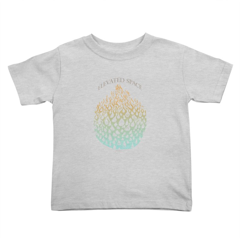 Fire to Water Kids Toddler T-Shirt by Elevated Space