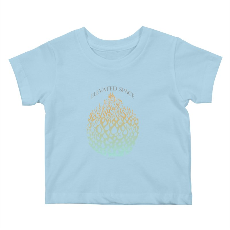Fire to Water Kids Baby T-Shirt by Elevated Space