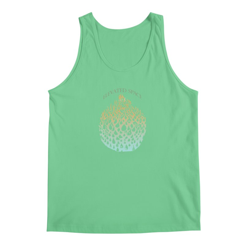 Fire to Water Men's Regular Tank by Elevated Space