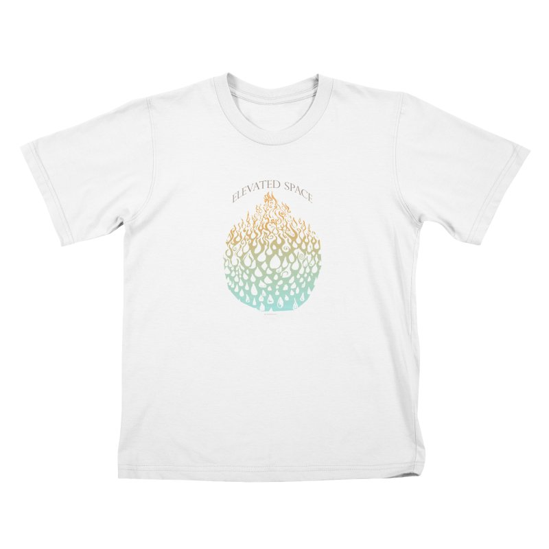 Fire to Water Kids T-Shirt by Elevated Space