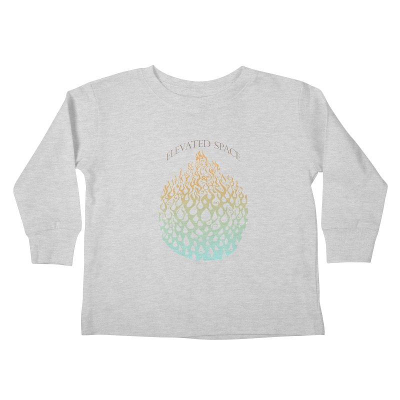 Fire to Water Kids Toddler Longsleeve T-Shirt by Elevated Space