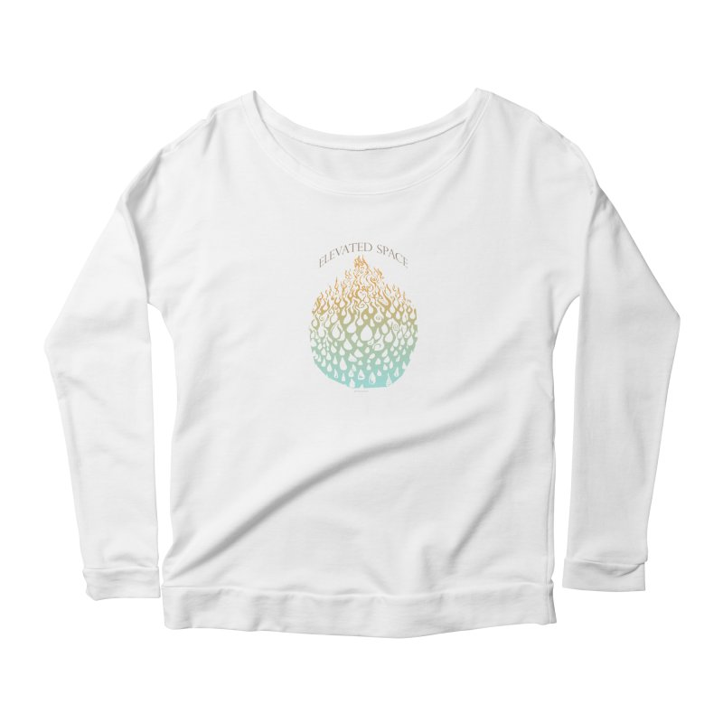 Fire to Water Women's Scoop Neck Longsleeve T-Shirt by Elevated Space