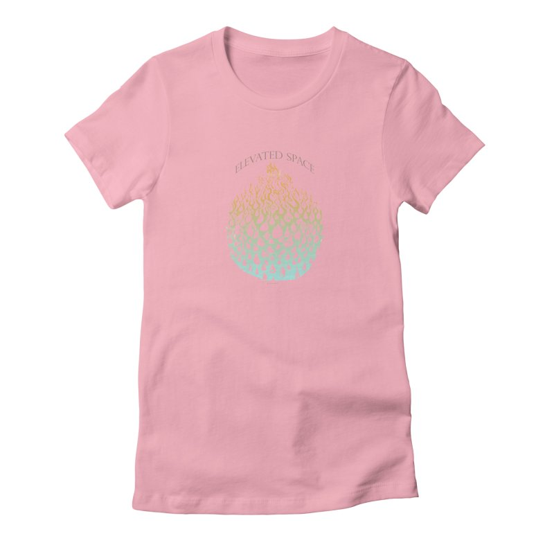 Fire to Water Women's Fitted T-Shirt by Elevated Space