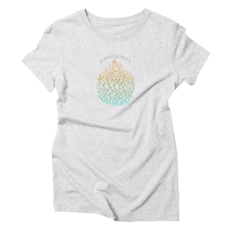 Fire to Water Women's Triblend T-Shirt by Elevated Space