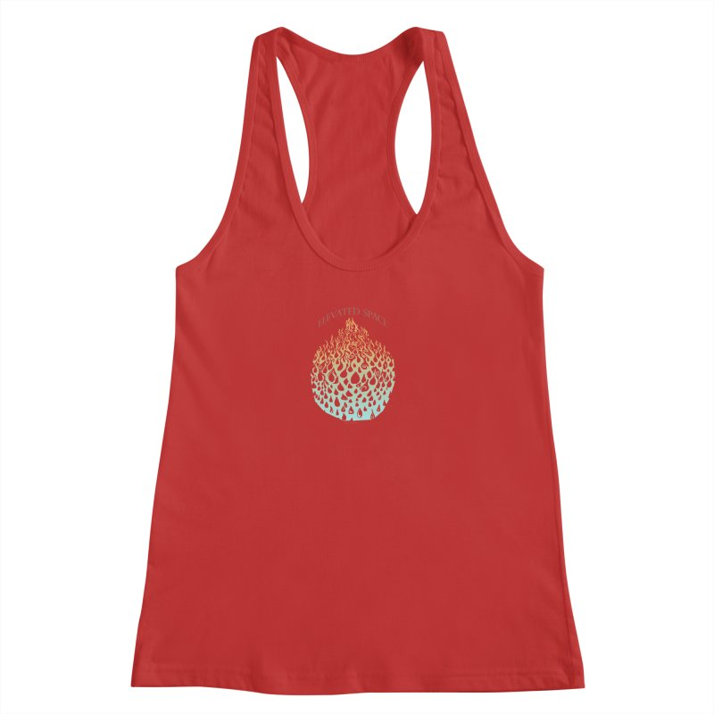 Fire to Water Women's Racerback Tank by Elevated Space